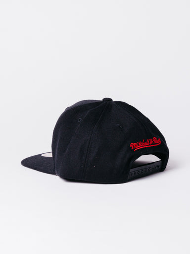 Nba wool solid snapback bulls