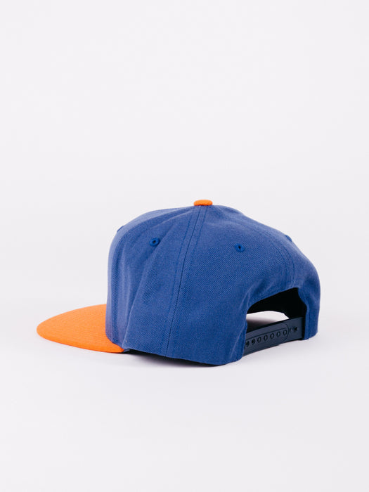 RIVAL MP SNAPBACK BLUE ORANGE