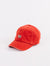 Deus cap shield standard red