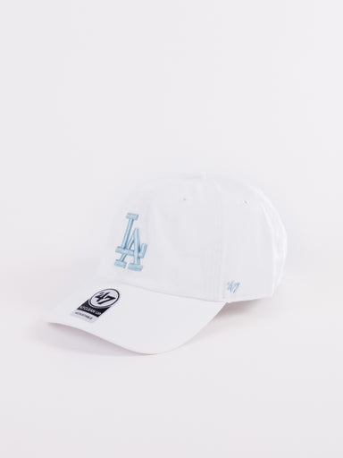 CLEAN UP Los Angeles Dodgers Dad Hat White