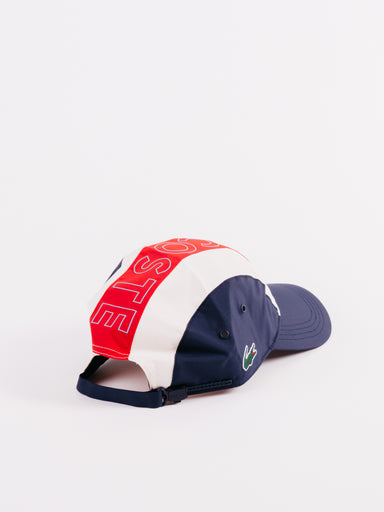 Lacoste Sport Navy Red White
