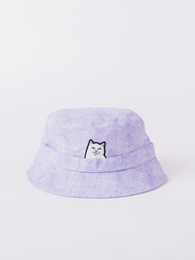 lord nermal purple bucket hat