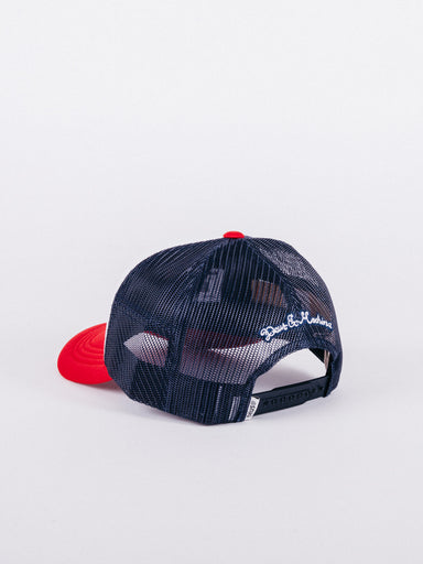 Pill Trucker Red/Navy