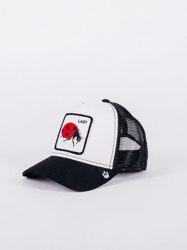 Lady Trucker Black/white