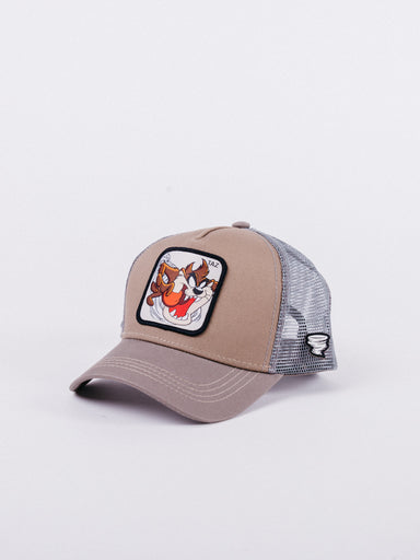 Looney Tunes Taz TAZ4 Trucker Brown