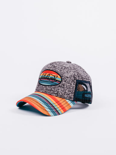 Gorra Von Dutch Gris Visera Multicolor
