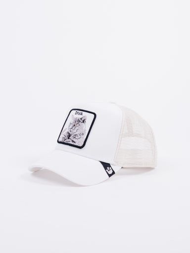 Gorra Goorin Bros Diva Cat Blanco White