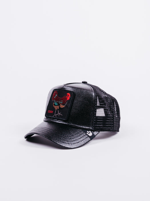 Cock  Trucker Black Leather