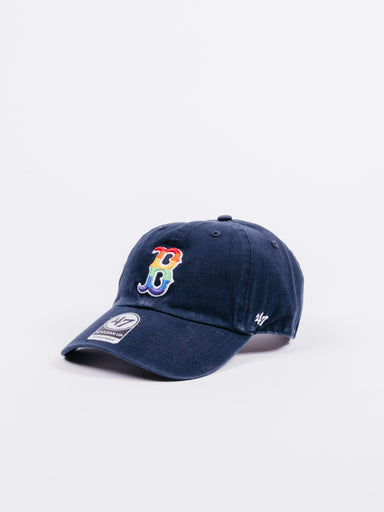 CLEAN UP Boston Red Sox Dad Hat Rainbow