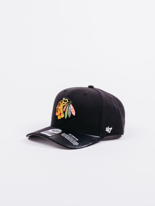 Gorra Chicago Blackhawks Negra NFL 47