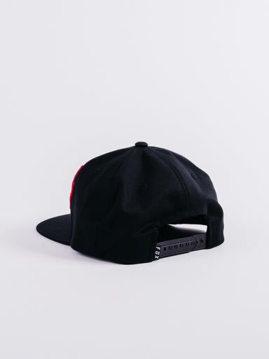 Headers Snapback Black