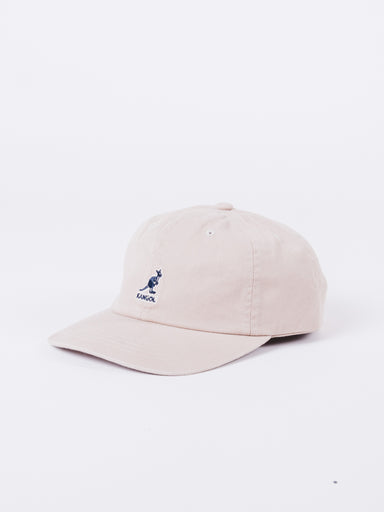 Washed Khaki Baseball Cap