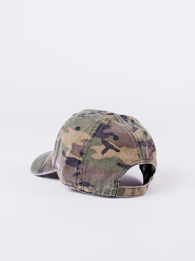 CLEAN UP Anaheim Ducks Camo Dad Hat