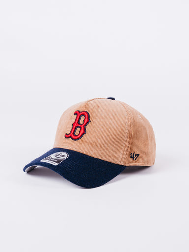 Gorra Boston Lana Marron Navy BLue