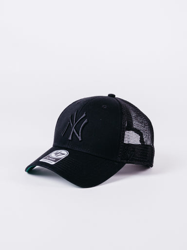 MVP New York Yankees Trucker Black Black Logo
