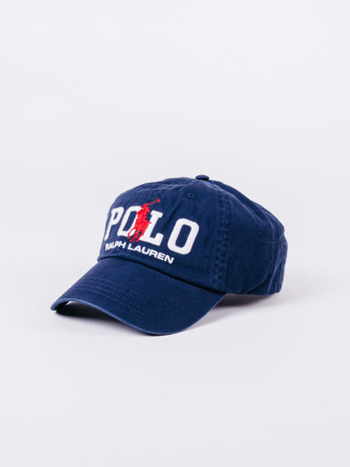 Polo Ralph Lauren Navy White Red bordado