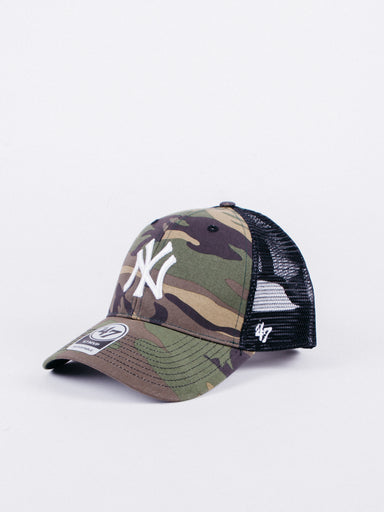 gorra trucker hat ny camuflaje new york yankees