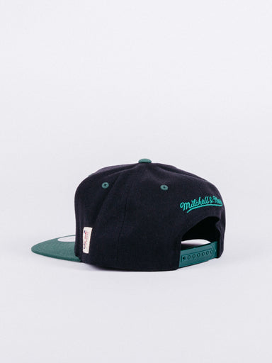 Milwaukee Bucks Classic Green/Black Snapback