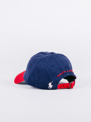 Polo Sport Red/Navy Cap