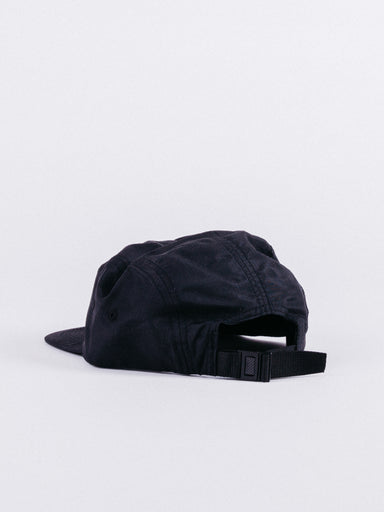 Gorra thrasher Small flame 5 Panel Black
