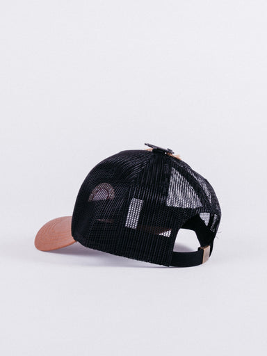 Gorra Trucker TRUCK1 Black/brown