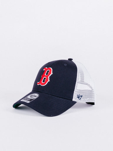 gorra trucker boston red sox logo B azul navy