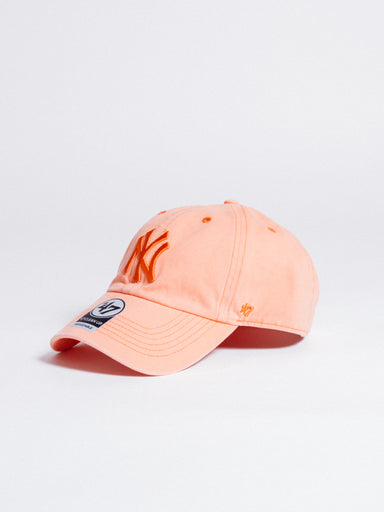 CLEAN UP New York Yankees Dad Hat Boathouse Orange