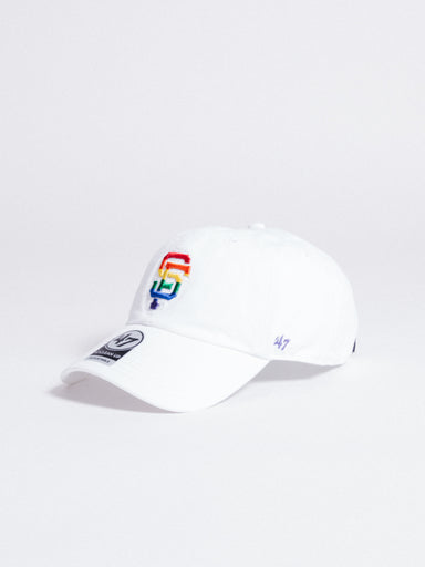 CLEAN UP San Francisco Giants Dad Hat Rainbow