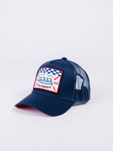 Gorra Trucker Square5b  Navy/Red