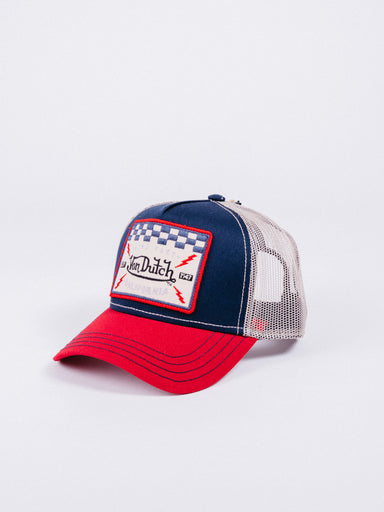 Gorra Trucker Square16 Blue/Red/Beige