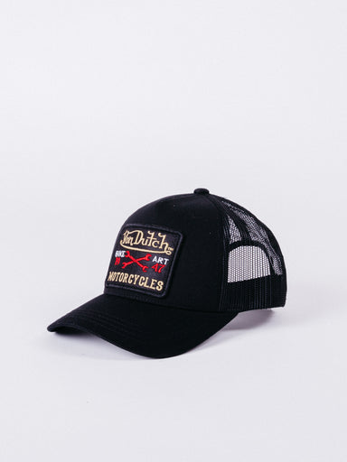 gorra trucker von dutch negra hat