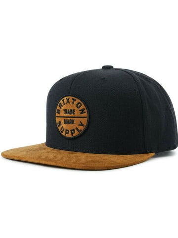 Flexfit Basic Black Brown Snapback