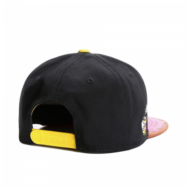 cayler & sons munchies classic snapback doughnut mordida bite simpsons trasera