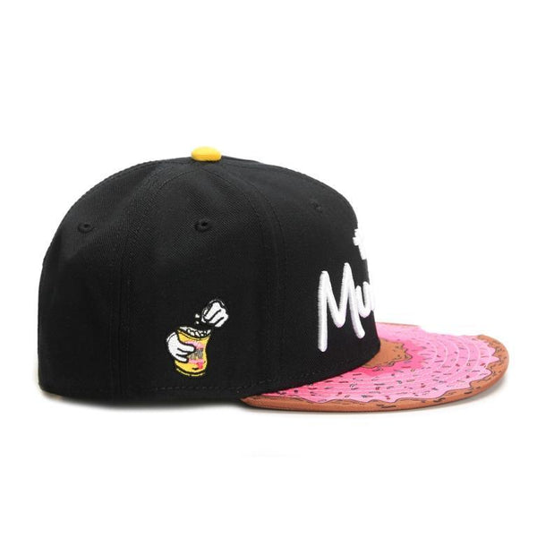 cayler & sons munchies classic snapback doughnut mordida bite simpsons lateral
