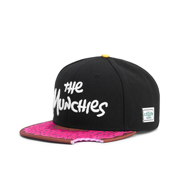 cayler & sons munchies classic snapback doughnut mordida bite simpsons