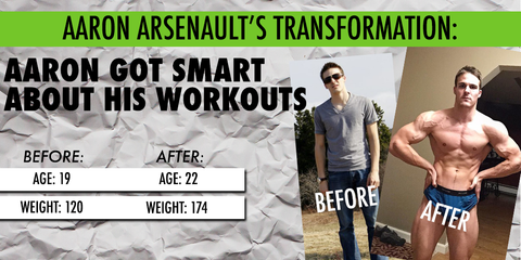 Aaron Arsenault Transformation of The Week