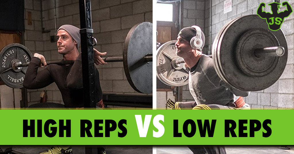 High Reps Vs Low Reps Workouts What Is Best
