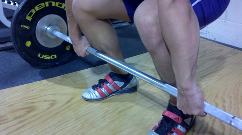 Double Overhand Deadlift Grip Picture