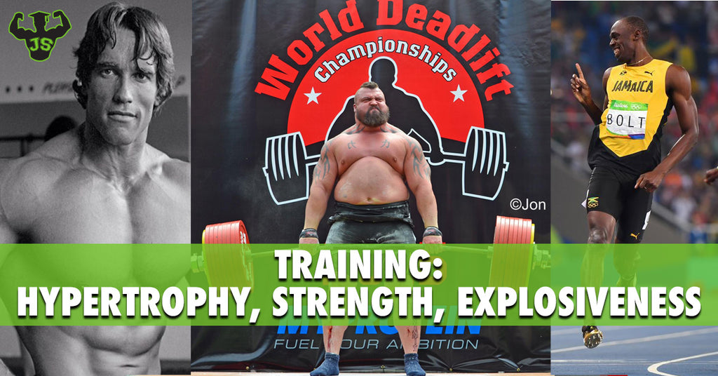 Training: Hypertrophy, Strength, Speed - The Science Behind Them