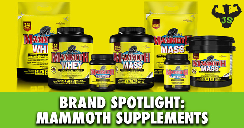 Brand Spotlight: Mammoth Supplements