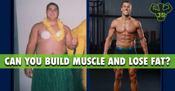 Can You Build Muscle And Lose Fat