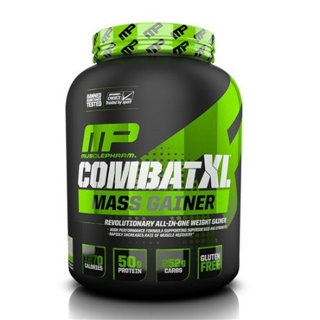 MusclePharm Combat XL Mass Gainer (6LB) | JackedScholar.com