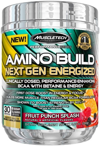 MuscleTech Amino Build Next Gen Energized (30 Serve)* | JackedScholar Supplements Canada