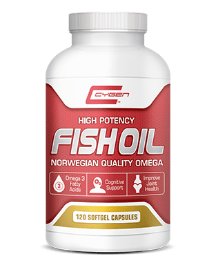 Cygen Labs Fish Oil (120 Softgels) | JackedScholar.com