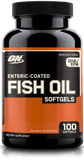 ON Enteric Coated Fish Oils (100 Softgels) | JackedScholar.com