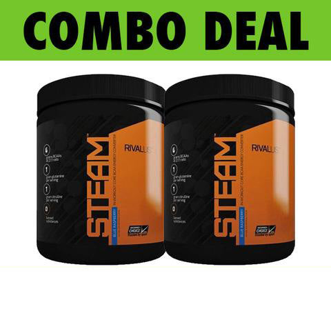 COMBO RIVALUS STEAM (30 Servings) X2*