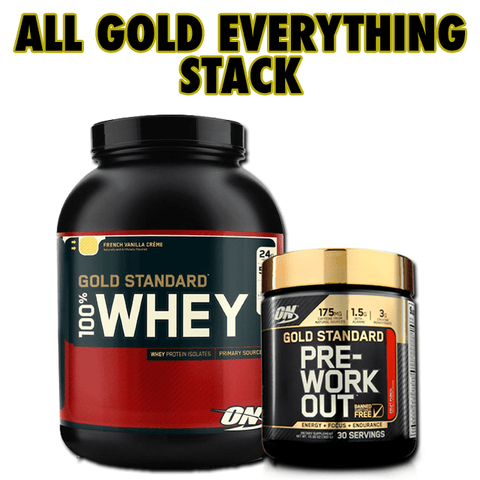 All Gold Everything Stack - JackedScholar - 1