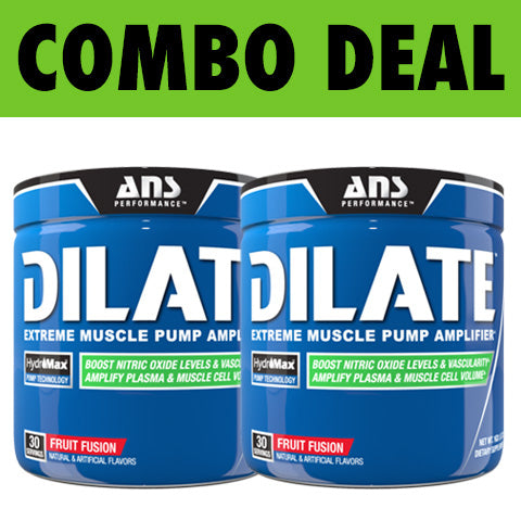 COMBO ANS Performance Dilate (30 Serve) X2* | JackedScholar Supplements Canada