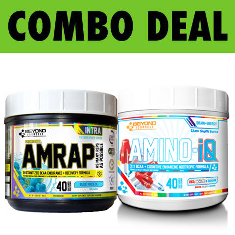 COMBO Beyond Yourself AMRAP + AMINO-IQ
