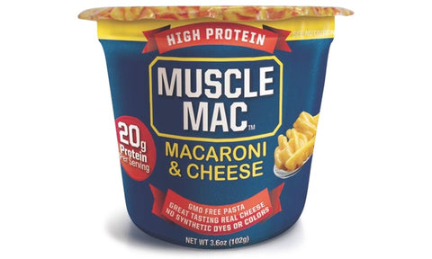 Muscle Mac Microwave Mac & Cheese (1 Cup) | JackedScholar Supplements Canada